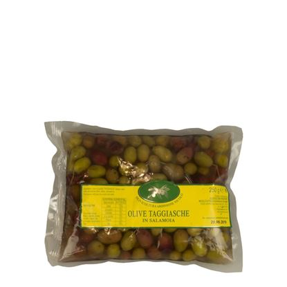 Picture of Taggiasca olives in brine